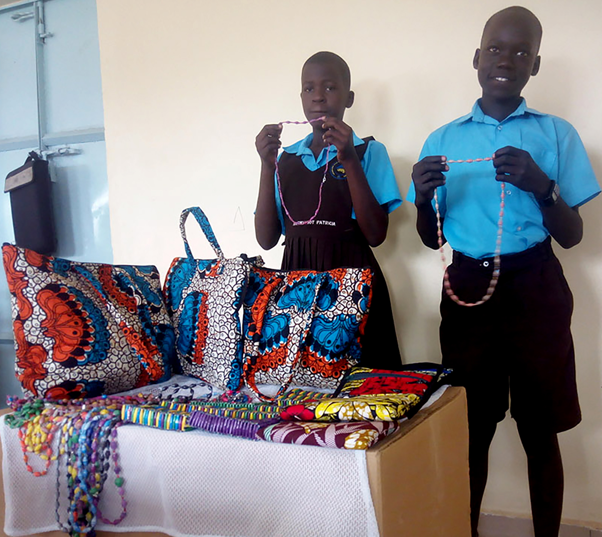 Traditional Bead-Work To Support Education